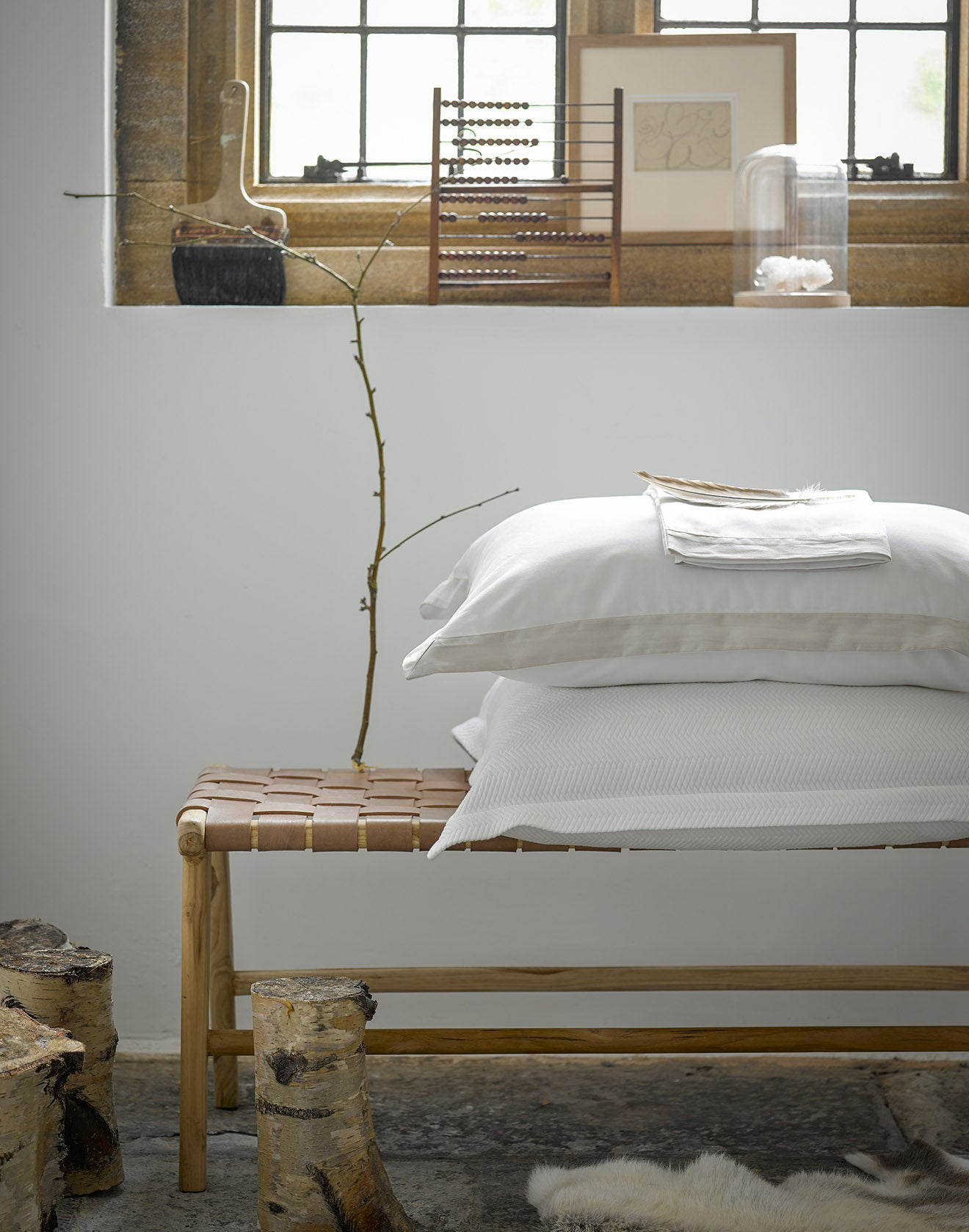 Mode Luxury bedding from Christy White Bed Linen
