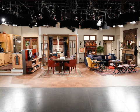 Will & Grace's Apartment decoration. NBC Studio set design
