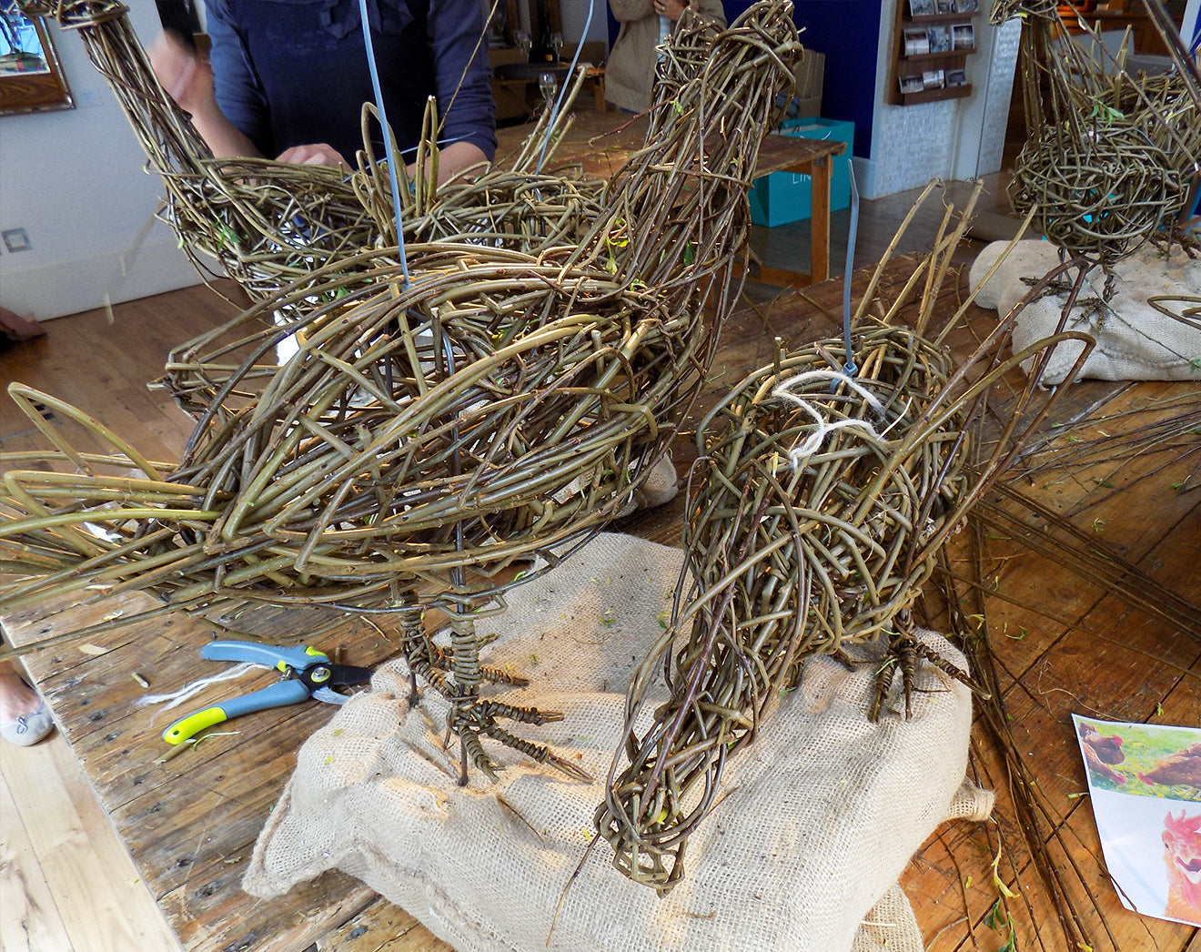 willow sculpting workshop London