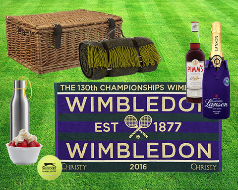 Wimbledon Luxury survival kit