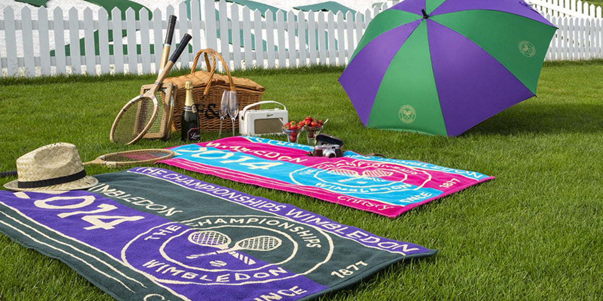 Wimbledon with Christy official towel supplier