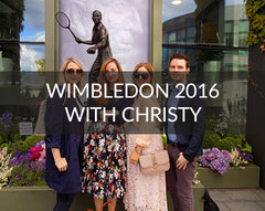Wimbledon with Christy