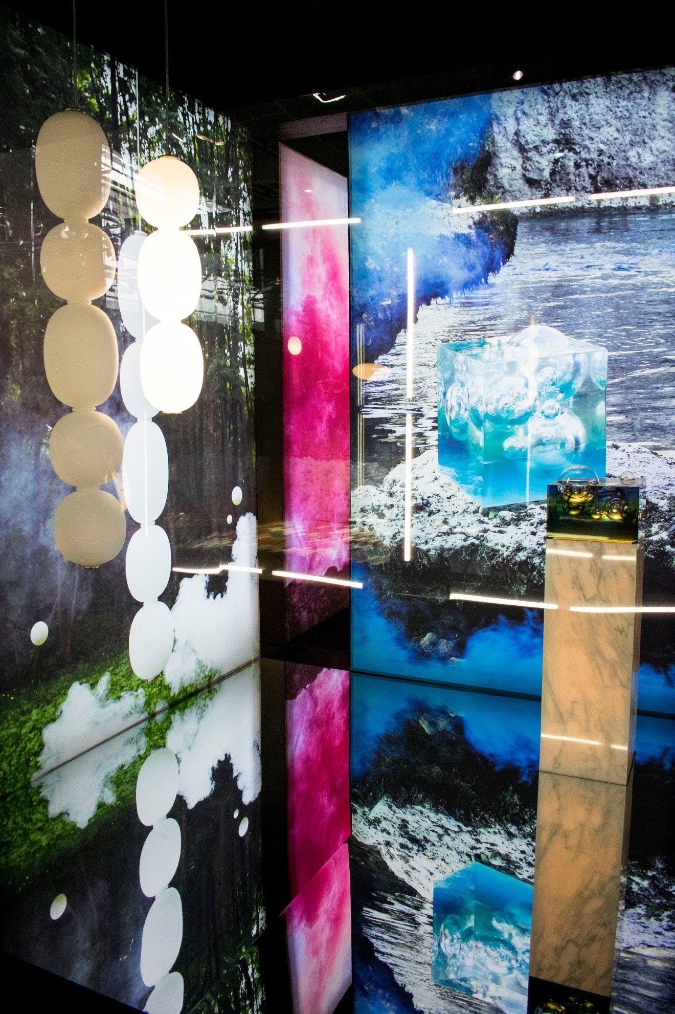 Wonderglass Installation Cabinet of Curiosities Maison et Objet