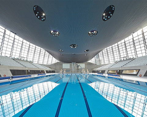 Olympic swimming pool London
