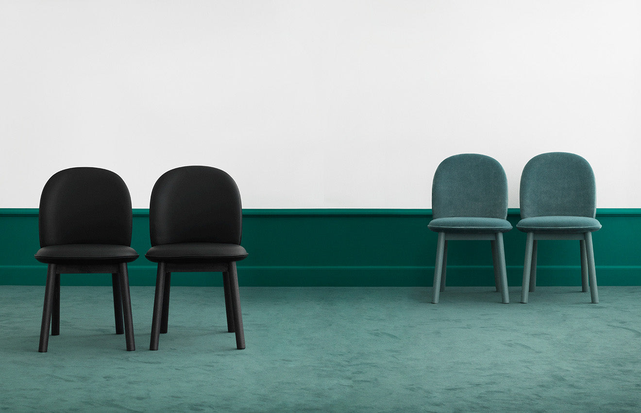 Ace side chairs flatpack design for Normann Copenhagen by Hans Hornemann