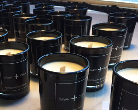 Dawn and Dusk Luxury candle launch at Buster and Punch