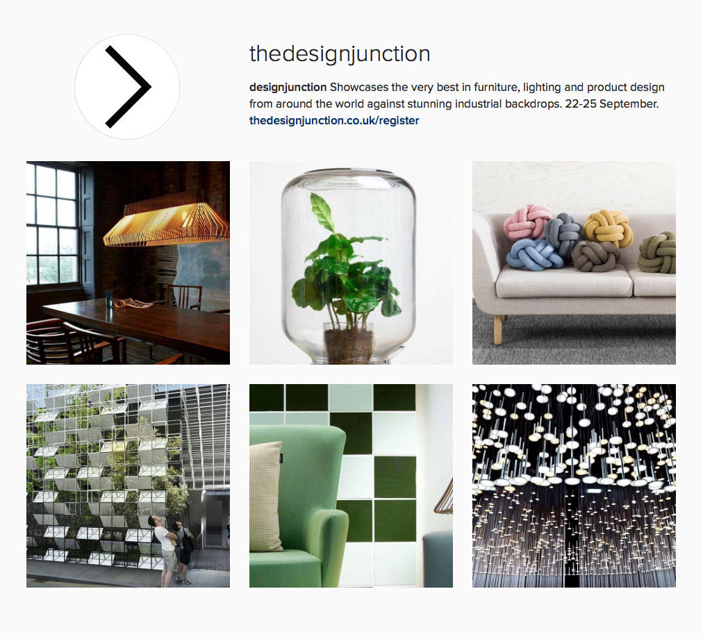 designjunction Instagram takeover