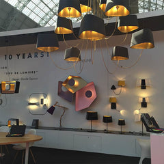 lighting on display at 100% Design