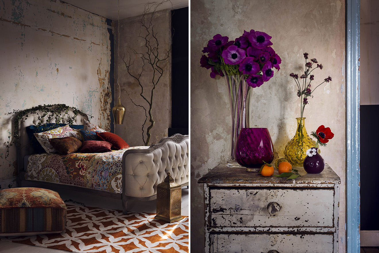 Modern Rustic interior design, new season collection from Marks and Spencer Home