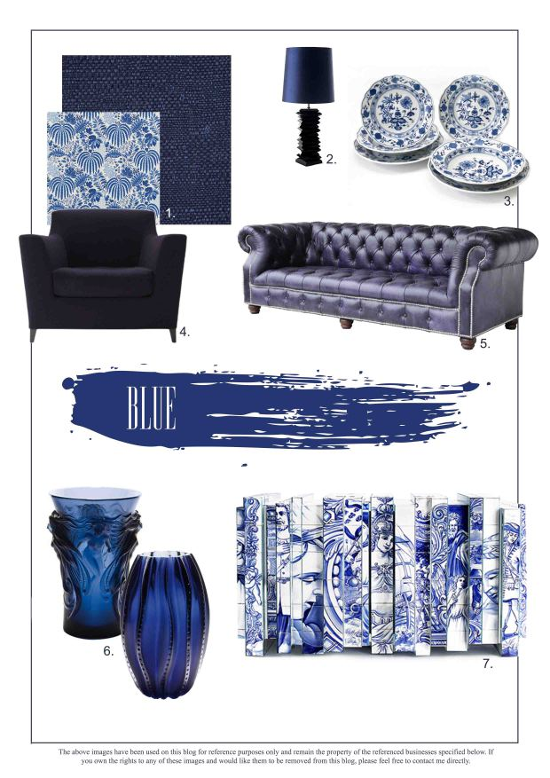 Blue Interior Design Trends for the home - Martyn White Designs