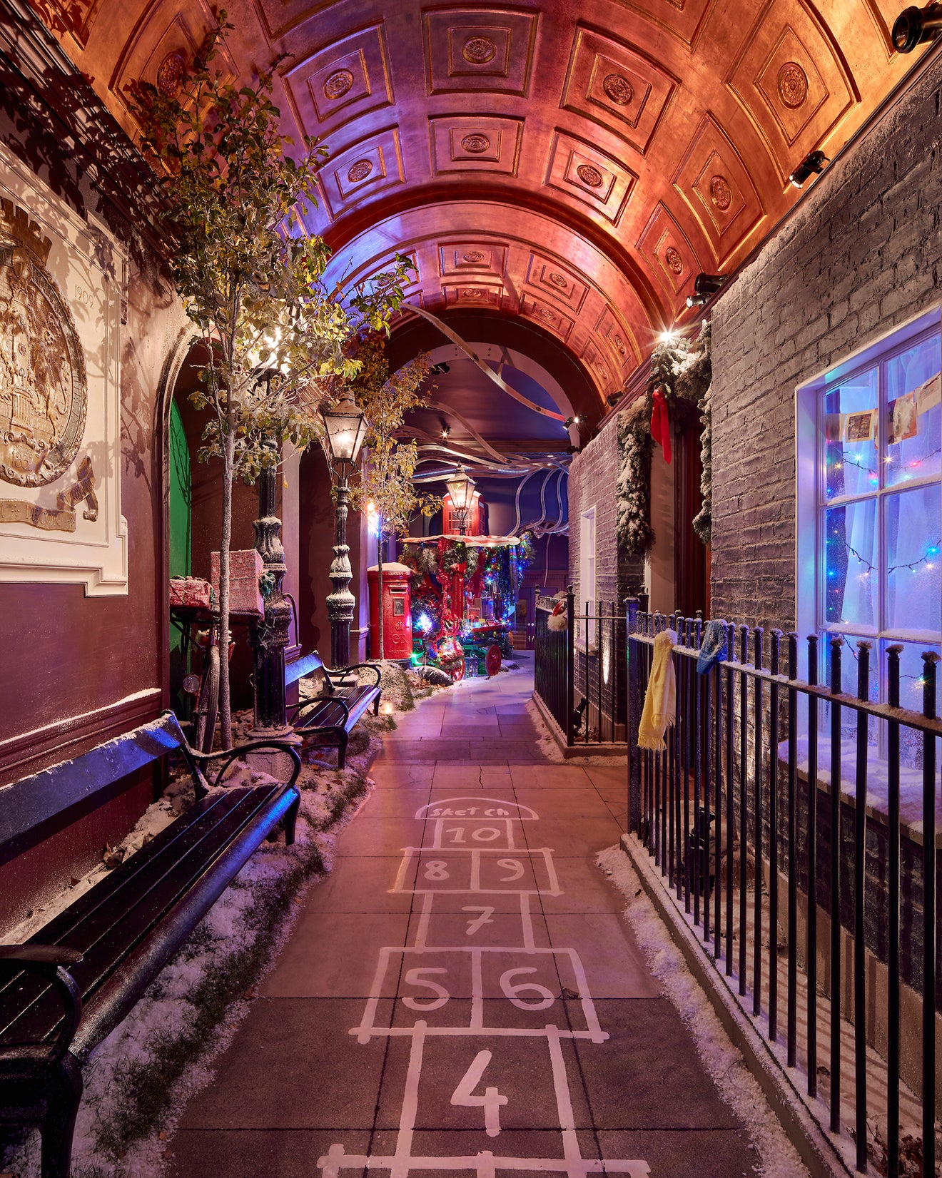 sketch restaurant London luxury Christmas art installations