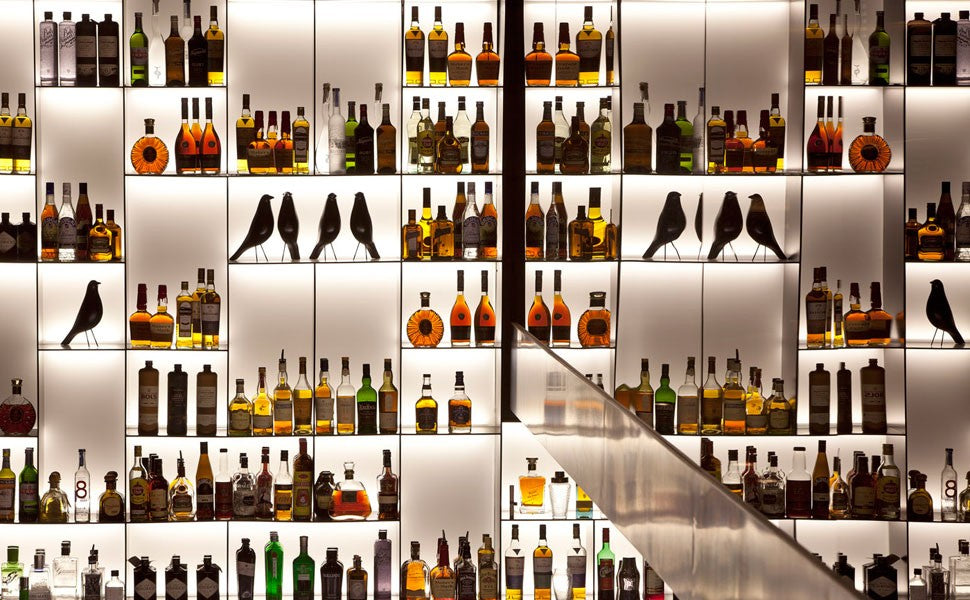 Tunes Bar the Conservatorium alcohol wall