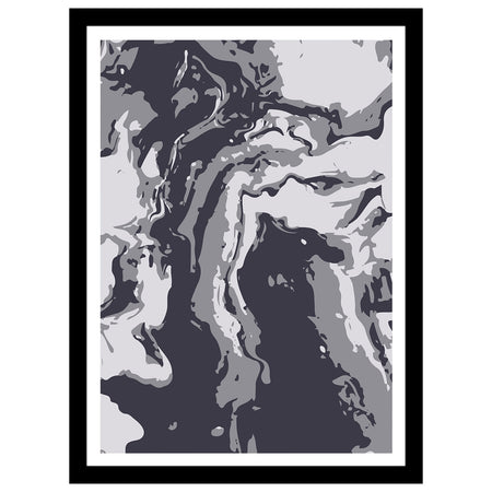 "Unite Collection - ""Sydney & The Bay"" Abstract Art Print"