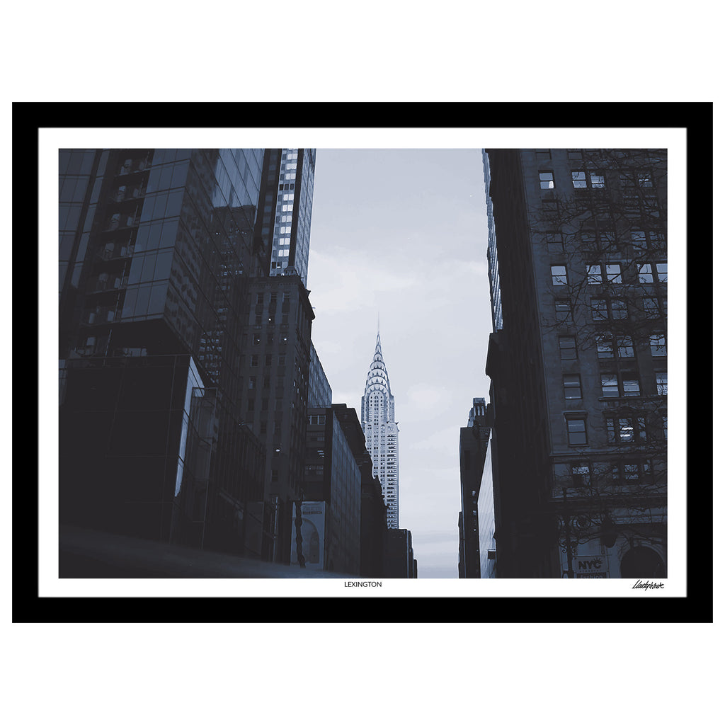 "Delve Collection - ""Lexington"" New York Landmark Print"