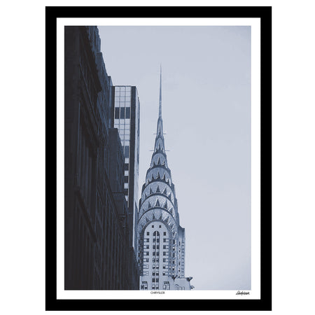 "Delve Collection - ""Empire"" New York Landmark Print"