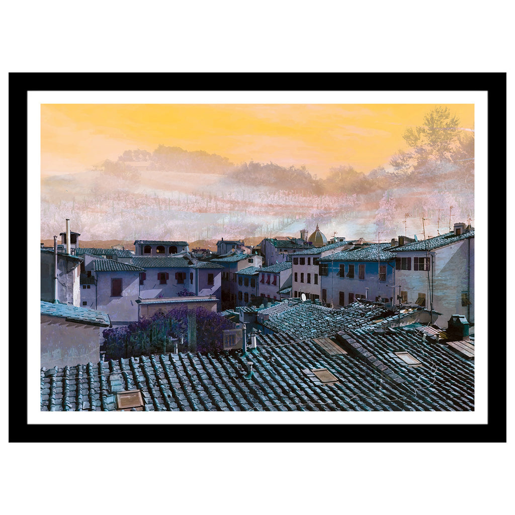 "Unite Collection - ""Florence & The Vineyard"" Abstract Art Print"