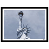 New York monochrome art print of the statue of Liberty