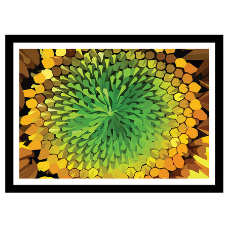 "Form I Collection - ""Dandelion Seed"" Geometric Art Print"