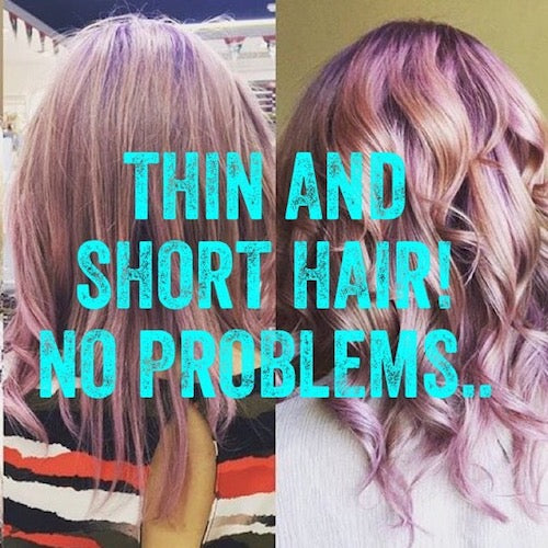 Thin and short hair? No problem!