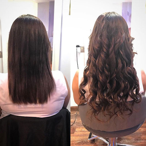 Attaching Keratin Hair Extensions In Dubai Endless Hair