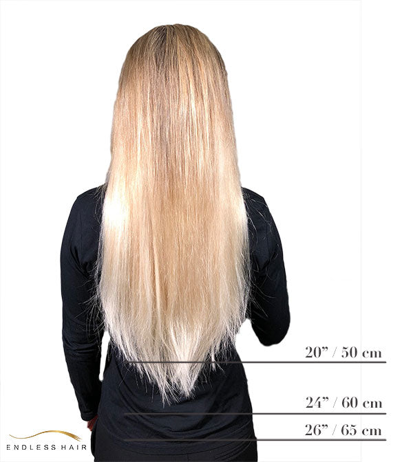 Hair extensions lengths