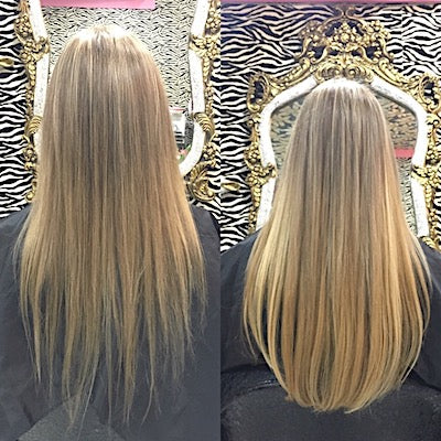 Hair extensions volume
