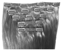 Load image into Gallery viewer, Ash Blonde #60 - Clip-In Hair 160g