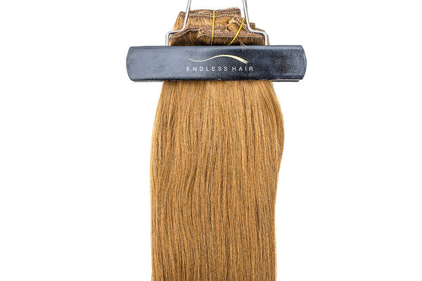 Light Golden Brown #12 - Clip-In Hair 160g