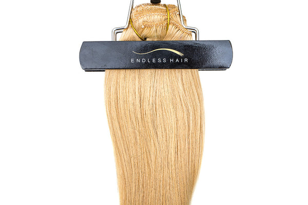 Golden Blonde #24 - Clip-In Hair 160g