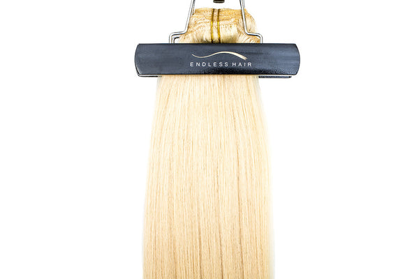 Bleach Blonde #613 - Clip-In Hair 160g
