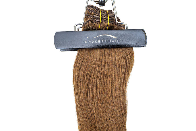 Chestnut Brown #6 - Clip-In Hair 160g