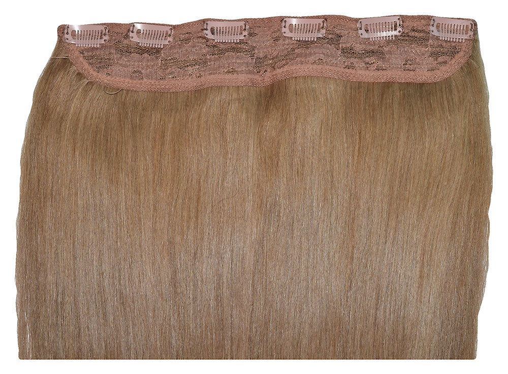 #8 Ash Brown One Piece Clip-In Hair 160g