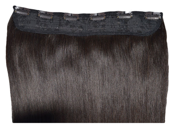 Dark Brown #2 One Piece Clip-In Hair 160g