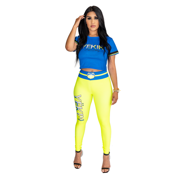 Neon Yekim Conquer Destiny leggings