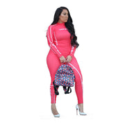 Womens 2 Pieces Activewear Pink