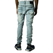 Mens Medium Wash Denim