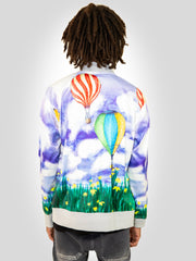 Yekim Jacket with Air Baloon and Field Print