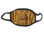Yekim Face Mask Reusable Washable Protective Mask Mustard MW114