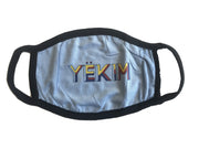 Yekim Face Mask Reusable Washable Protective Mask Light Blue MW119