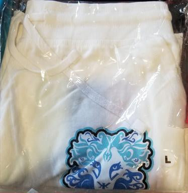 Drawstring Shorts White