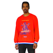 Mens Lightweight Conquer Destiny Sweater Red