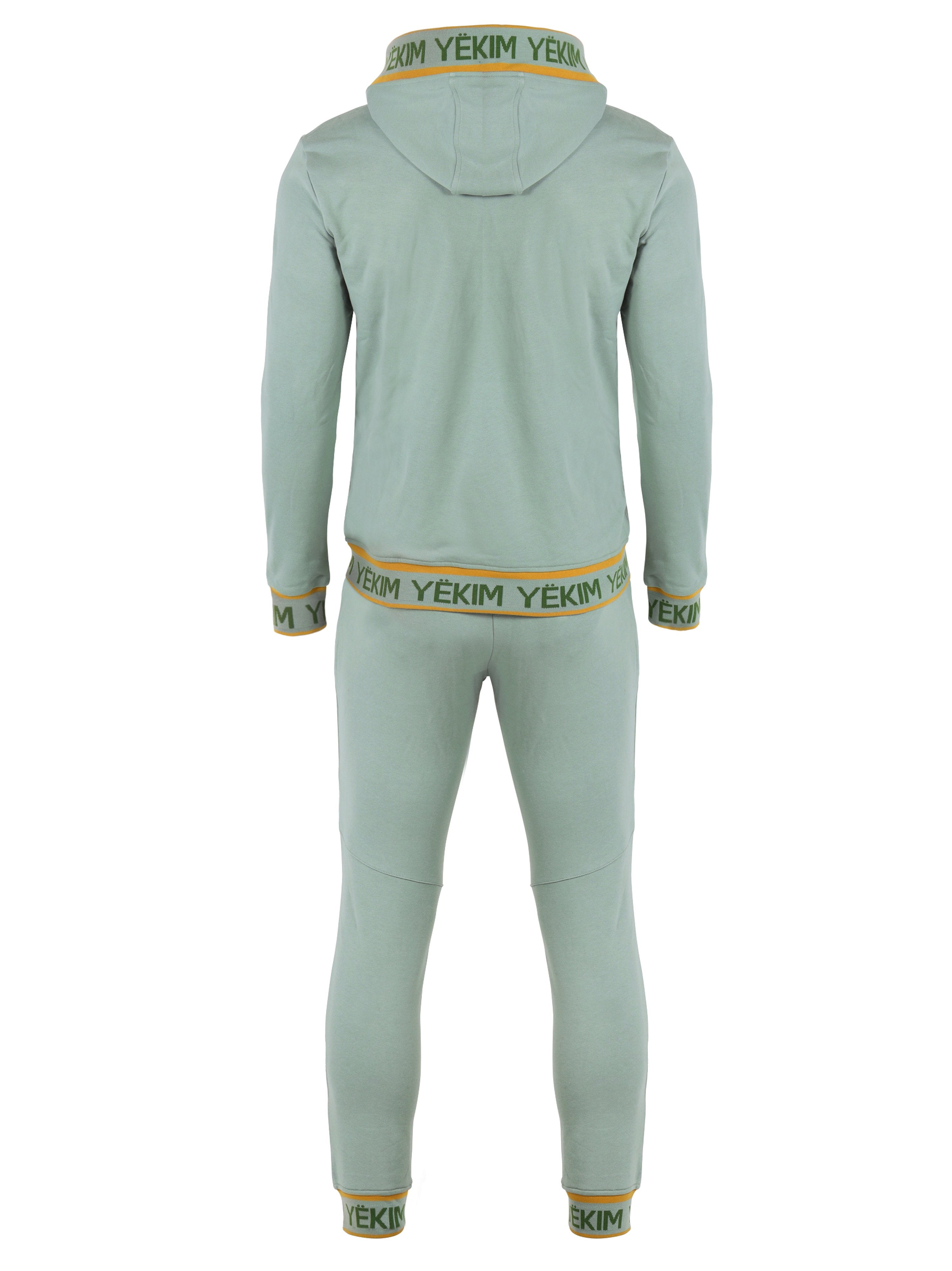 Mens Green with Signature front Yekim Logo Sport Suit