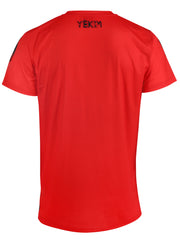 Big Lion Face Yekim Shirt Red and Black