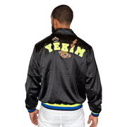 Yekim Satin Jewelry Bomber (Black)