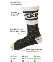 Conquer Destiny Socks (Black/White)