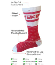 Conquer Destiny Socks (Red/White)