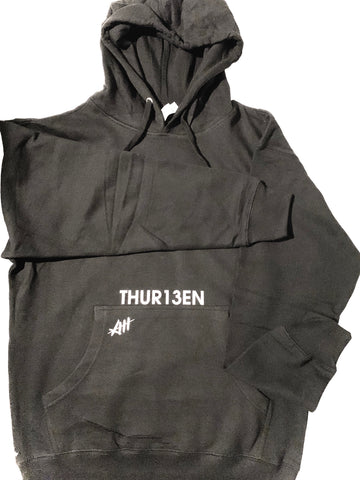 The Bottom Line Hoodie / Black