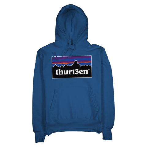 The Explorer Hoodie / Royal Heather Blue