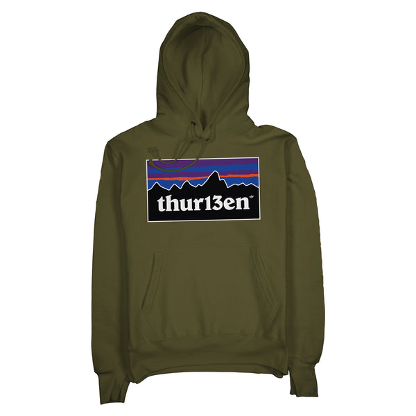 The Explorer Hoodie / Army