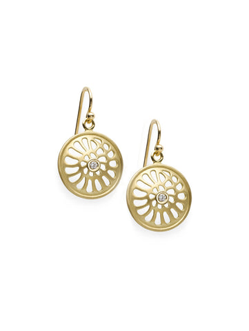 Nautilus 18K & Diamond Earrings